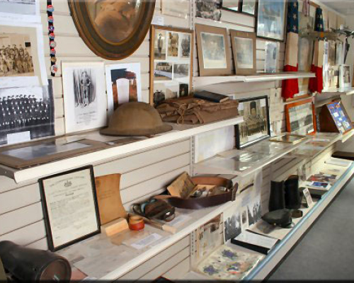 Fleetwood Historical Society Military Room
