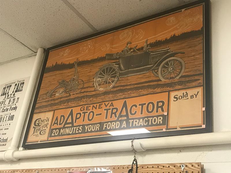 Fleetwood Geneva Tractor Poster