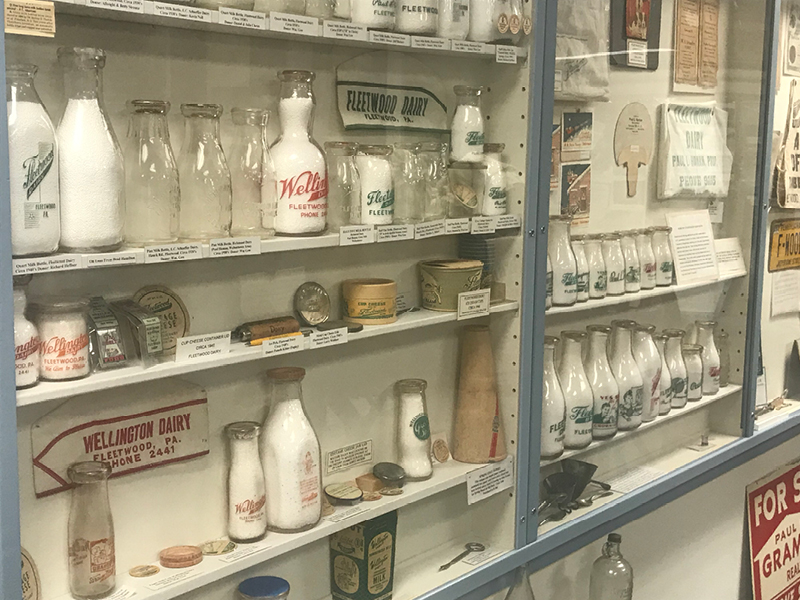 Fleetwood Milk Bottle Collection