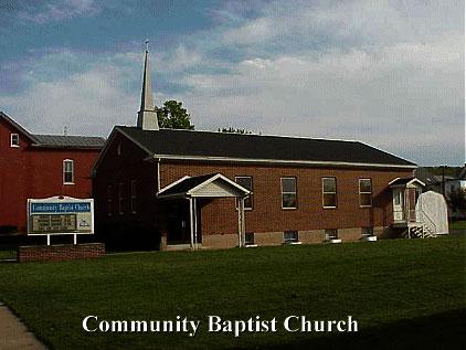 community baptist church | fleetwood area historical society