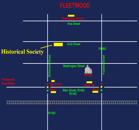 fleetwood historical society maps | Fleetwood Area Historical Society